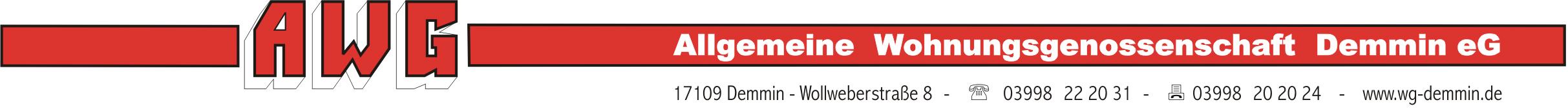 Allgemeine Wohnungsgenossenschaft Demmin eG Logo